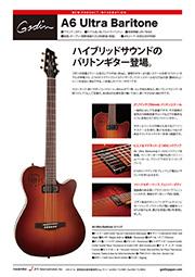 バリトン・ギター新登場!